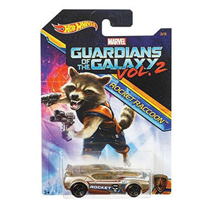 Hot Wheels Marvel Guardians of The Galaxy Vol.2, (Fast Fish (Rocket raccoon))