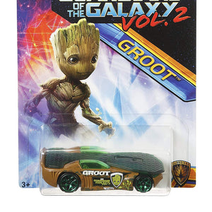 Hot Wheels Marvel Guardians of The Galaxy Vol.2, Groot Solar Reflex