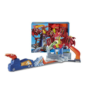 Hot Wheels Dragon Blast Playset DWL04
