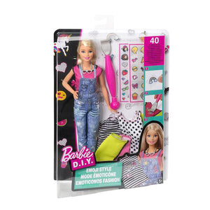 Barbie DIY Emoji Style Fashion Doll
