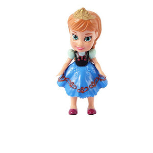 Disney Frozen Toddler Anna Mini Doll  Cake Topper ( 3 inches )