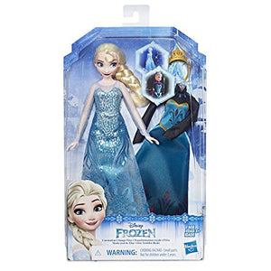 Disney Frozen Coronation Change Elsa