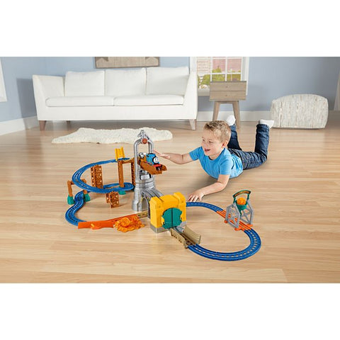 Fisher Price Thomas & Friends Motorized Railway Steelworks Escape Set FBK85