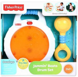 Fisher Price Jammin Beats Drum