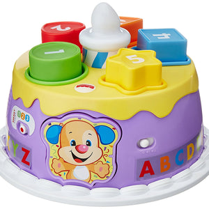 Fisher Price Laugh and Learn Smart Stages Magical Lights Birthday Cake, Multi Color DYY02