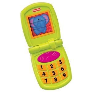 Fisher-Price Growing Baby Fun Sounds Flip Phone W3115