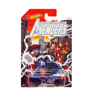 HOTWHEELS MARVEL AVENGERS VEHICLE FKD48 FKD53 (PONY UP)