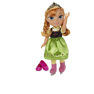 Frozen Ice Skating Anna Doll Toddler 31016