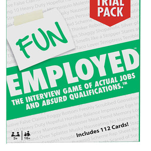 Fun Employed ( 112 CARDS ) , Card Game by Mattel