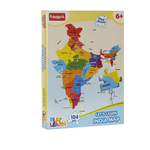 Funskool India Map Puzzles,9421100