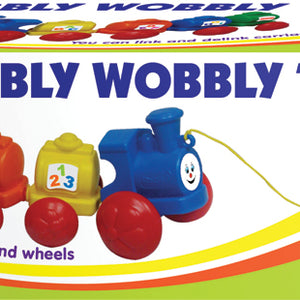 Funskool Giggles Wibbly Wobbly Train 2473500