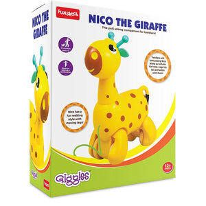 Giggles Nico the Giraffe, Yellow 5105600