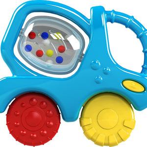 Funskool Giggles Mixer Truck Teether Rattle for Babies
