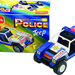 Funskool Police Jeep, Multi Color 9932100