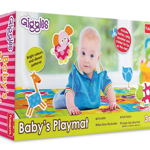 Giggles Baby's Playmat, Multi Color 9949200