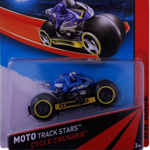 Hot Wheels Moto Track Stars CYCLE CRUSHER BDN36-BDN40