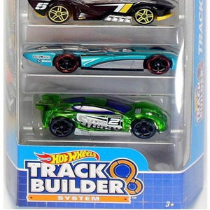 Hot Wheels 5 Cars Pack Track Builder System