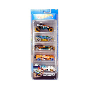 Hot Wheels  5 Cars Pack Formula Space Cars