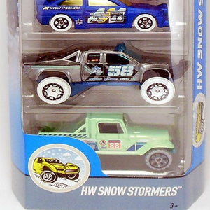 Hot Wheels 5 Cars Pack Snow Stormers
