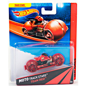 Team Red Hot Wheels Moto Track Stars BDN36-BDN37
