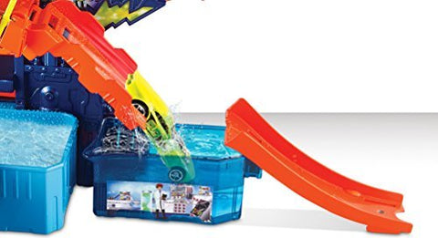 Hot Wheels Shifters Color Splash Science Lab Playset CCP76