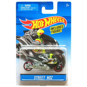 Hot Wheels STREET NOZ Motorcycle With Rider X2075 CGC11
