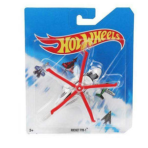 Hot Wheels Die Cast Rocket Fyr 1 Chopper Toy - White Red BBL47-FCC83