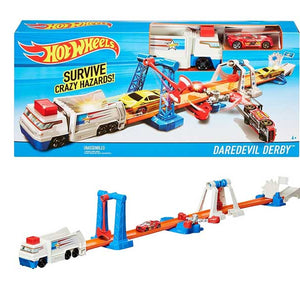 Hot Wheels Daredevil Derby Playset, Multi Color DNR74-DWK84
