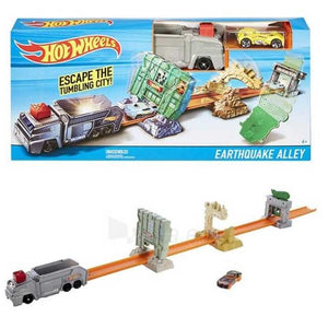Hot Wheels Earthquake Alley Playset DNR74-DWY52