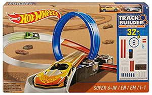 Mattel Hot Wheels Track Builder System Super 6-in-1 Set Vehicle DPF20
