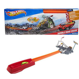 Hot Wheels Rumble Road Crash Track Set J7963-T7501