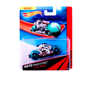Hot Wheels Moto Track Stars LIVE WIRE BDN36-BDN55