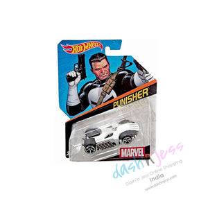 Hot Wheels 1: 64 , Marvel Character Car, Punisher  BDM71-DJJ53