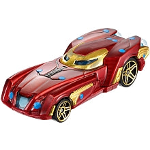 Hot Wheels 1:64 , Marvel Character Car, Ironman  BDM71