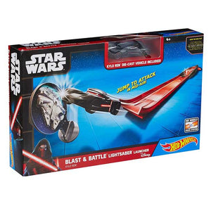 Hot Wheels® Star Wars™ Blast & Battle™ Lightsaber™ Launcher Kylo Ren CMM32-DKT63