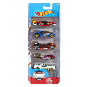 Hot Wheels 5 Cars Pack SUPER ULTIMATE GARAGE Hotwheels Pack