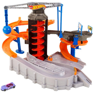 Hot Wheels Construction Zone Chaos Play Set DPD88
