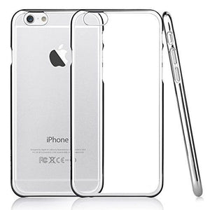 Barrier® Clear Hard Plastic Grip Back Cover for iPhone 6, Iphone 6s (Transparent)