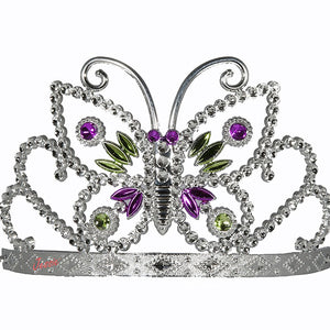Jessie My Princess Tiara / Crown of Butterflies ( Multicolor ) for Parties , Fashion Show , Fancy Dress Costume Accessory