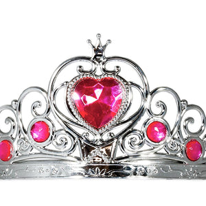 Jessie My Princess Tiara / Crown of Hearts ( Pink ) for Parties , Fashion Show , Fancy Dress Costume Accessory