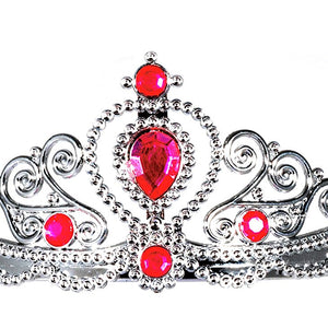 Jessie My Princess Tiara / Crown of Jades ( Pink ) for Parties , Fashion Show , Fancy Dress Costume Accessory