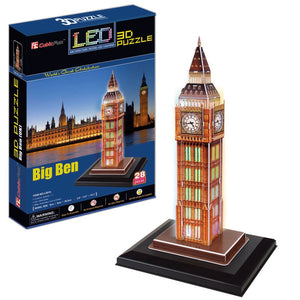 CubicFun L501H Led Big Ben Puzzle