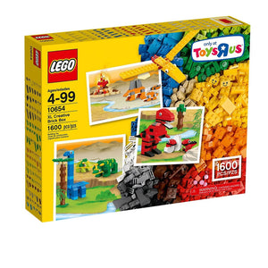 LEGO Classic Creative Brick Box XL  Set of 1600pc , Lego 10654