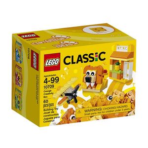 Lego Classic Orange Creativity Box Building Kit,Lego 10709