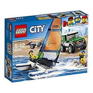 Lego City 4x4 with Catamaran , Lego 60149