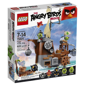 Lego Angry Birds Piggy Pirate Ship Building Set , Lego 75825