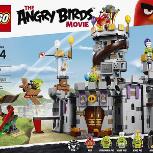 Lego Angry Birds King Pig s Castle Building Kit , Lego 75826