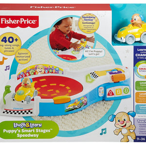 Fisher Price Laugh & Learn® Puppy's Smart Stages™ Speedway CDL73