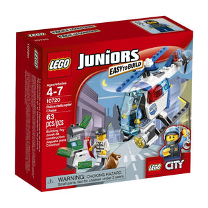 Lego Juniors Police Helicopter Chase,Lego 10720