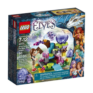 Lego Elves Emily Jones & The Baby Wind Dragon,Lego 41171